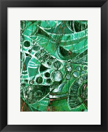 Framed Sea Glass II Print