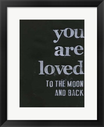 Framed When I Saw You... V Print
