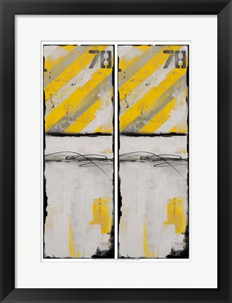 Framed 2-Up Route 78 II Print
