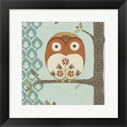 Framed Forest Whimsy I Print