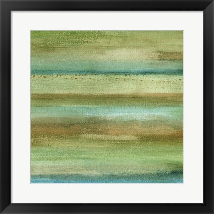 Framed Fields in Spring II Print