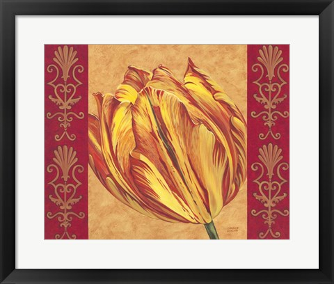 Framed Tulip Power I Print