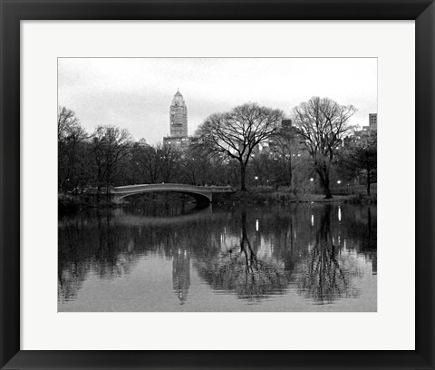 Framed NYC Skyline V Print