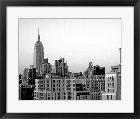 Framed NYC Skyline VI Print