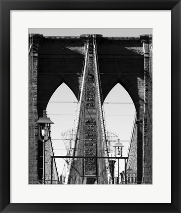 Framed Bridges of NYC II Print