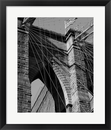 Framed Bridges of NYC III Print