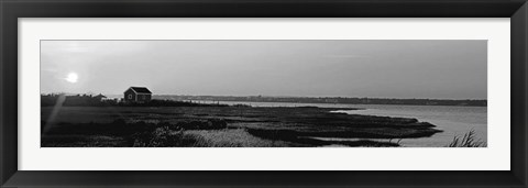 Framed Shore Panorama VI Print