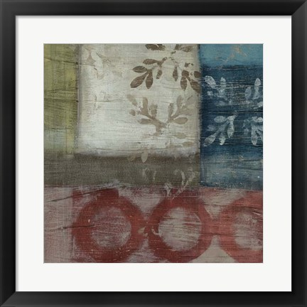 Framed Heritage Abstract II Print