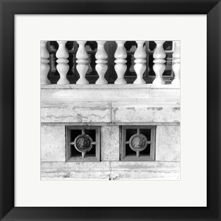 Framed Architecture Detail III Budapest Print