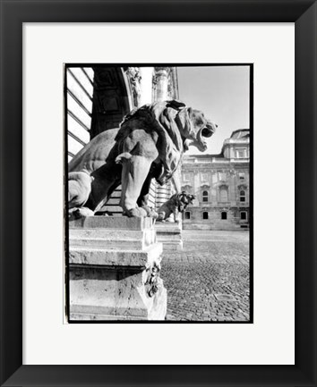 Framed Standing Guard, Royal Palace Print