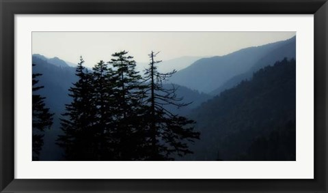 Framed High Country Silhouette I Print