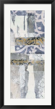 Framed Chambray & Lace II Print
