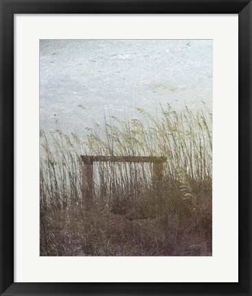 Framed Through the Dunes I Print
