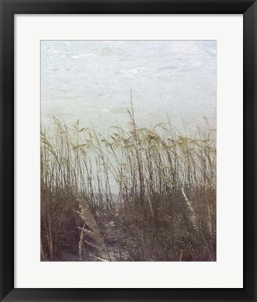 Framed Through the Dunes II Print