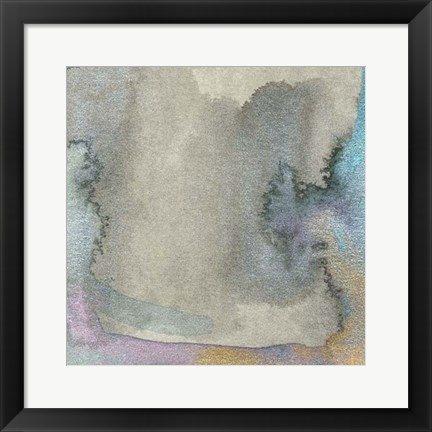 Framed Frosted Glass III Print
