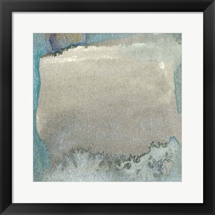 Framed Frosted Glass IV Print