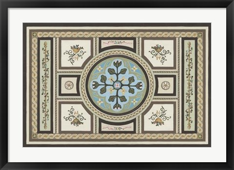 Framed Chateau Panel II Print