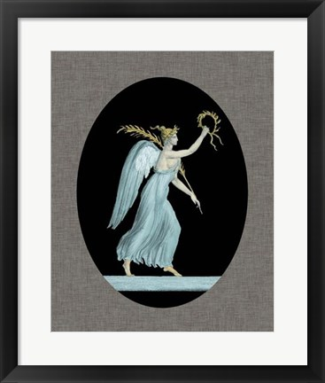 Framed Grecian Beauty II Print