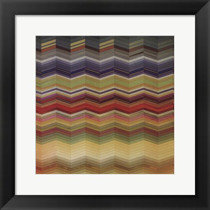Framed Color & Cadence I Print