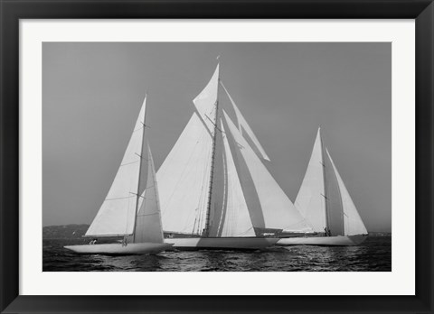 Framed Sailing Together Print