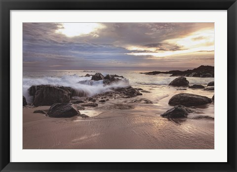 Framed Laguna Sunset Print
