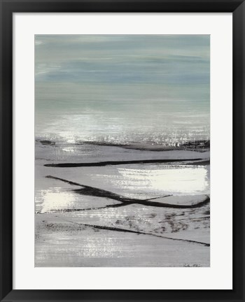 Framed Beach II Print
