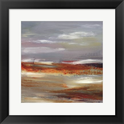 Framed Fresh Aire I - Square Print