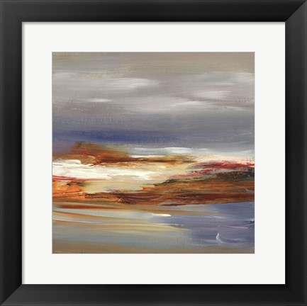 Framed Fresh Aire II - square Print