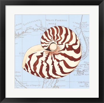 Framed Seashore Gifts II Print