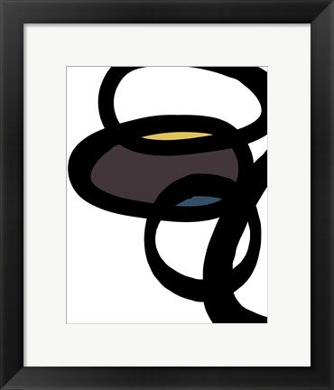 Framed Abstract II Print