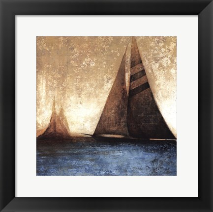 Framed Sail Away I Print