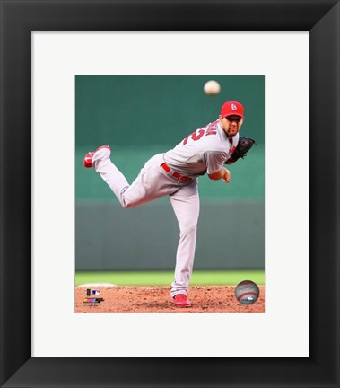 Framed Michael Wacha 2014 pitching Print