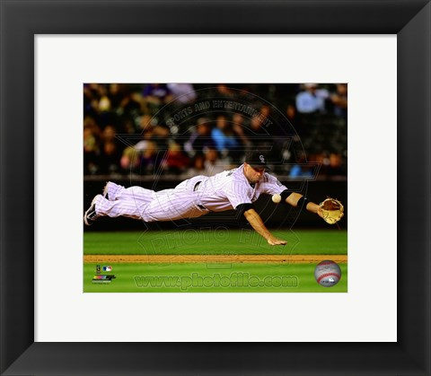 Framed Michael Cuddyer 2014 Print