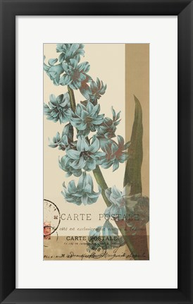 Framed French Blue III Print