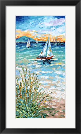 Framed Wind in my Sail I Print