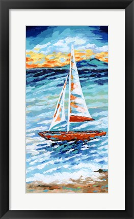 Framed Wind in my Sail II Print