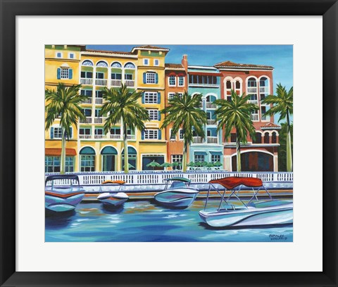 Framed Tropical Rendezvous I Print