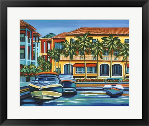 Framed Tropical Rendezvous II Print