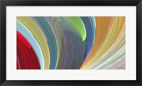 Framed Wind Waves III Print