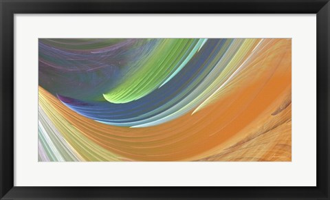 Framed Wind Waves IV Print