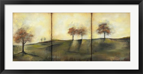 Framed Autumnal Meadow II Print