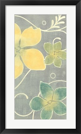 Framed Tropical Whimsy II Print