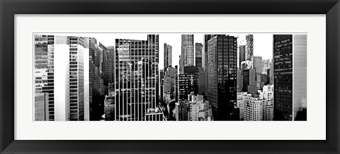 Framed Panorama of NYC VII Print