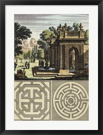 Framed Architecture Curiosa III Print