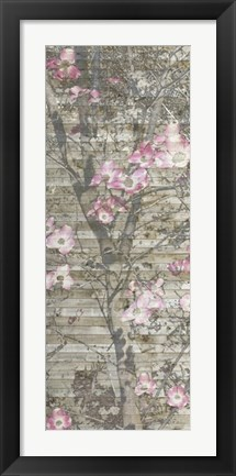 Framed Dogwood Dance II Print