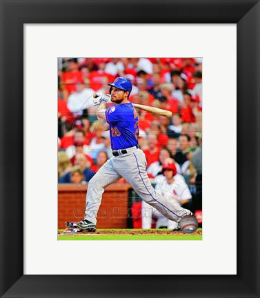 Framed Daniel Murphy 2014 Action Print