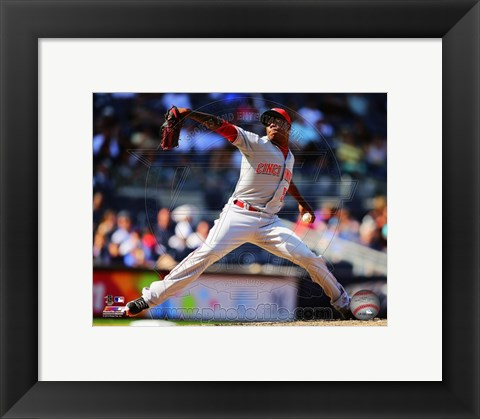 Framed Aroldis Chapman 2014 Action Print