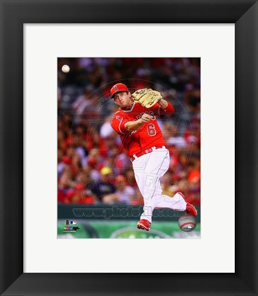 Framed David Freese 2014 Action Print