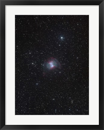 Framed Dumbbell Nebula Print