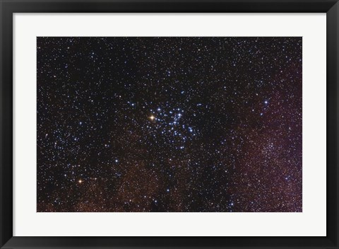 Framed Messier 6, the Butterfly Cluster Print